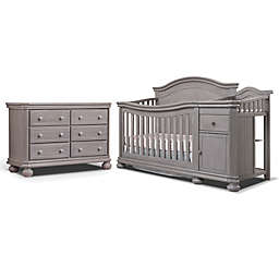 Sorelle Finley Crib Furniture Collection in Weathered Grey