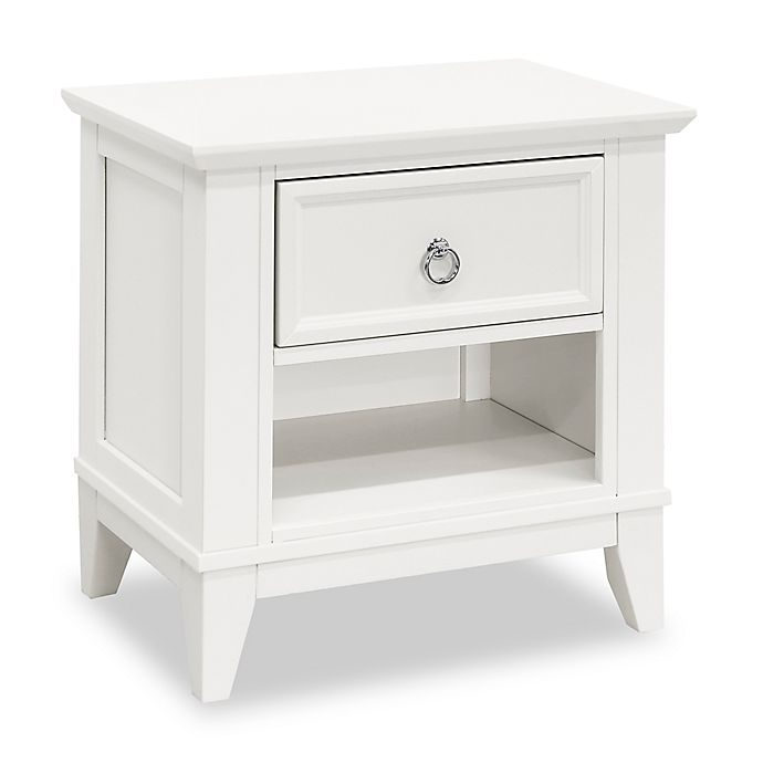 Alternate image 1 for Encore by Million Dollar Baby Classic Emma Regency Nightstand in Warm White