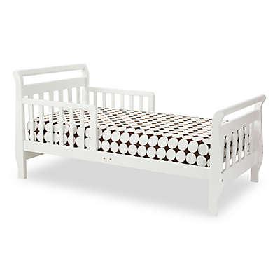 DaVinci Sleigh Toddler Bed in White