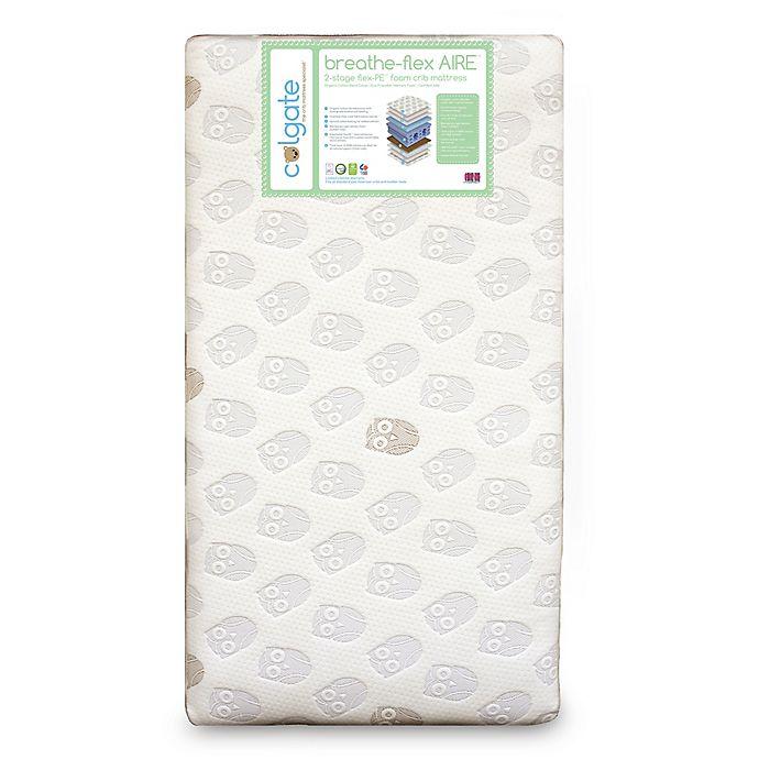 Alternate image 1 for Colgate Breathe-Flex™ Aire Eco-Friendly Crib Mattress