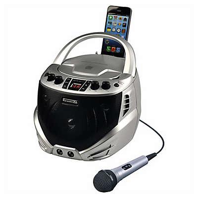 Portable Karaoke Player in Silver