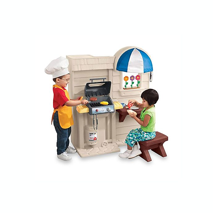Inside/Outside Cook \'n Grill™ Kitchen by Little Tikes® | Bed ...