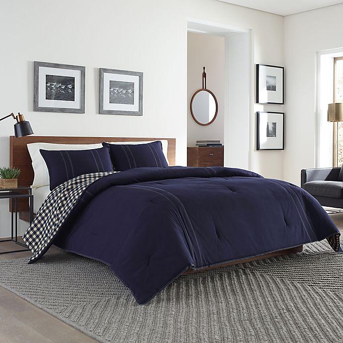 Alternate image 1 for Eddie Bauer® Kingston Twin Comforter Set in Navy