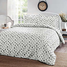 Brielle Circlets 3-Piece Duvet Cover Set