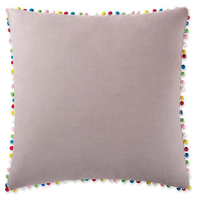 Alternate image 1 for Antik Batik Margo European Pillow Sham in Grey