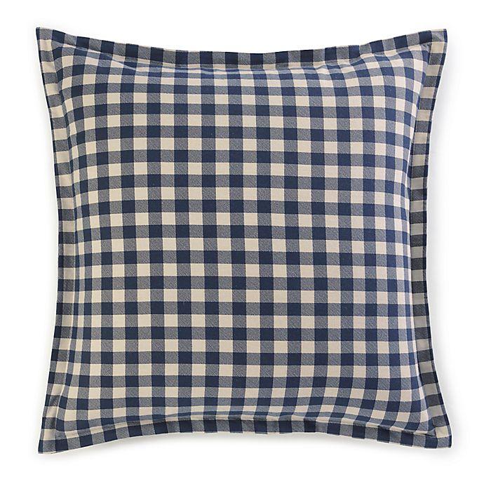 Alternate image 1 for Eddie Bauer® Kingston European Pillow Sham in Navy