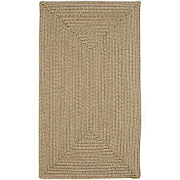 Capel Rugs Candor 2-Foot x 3-Foot Indoor/Outdoor Accent Rug in Tan
