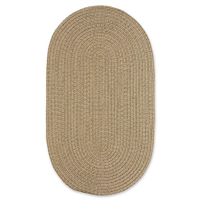 Capel Rugs Candor Indoor/Outdoor Oval Rug In Tan