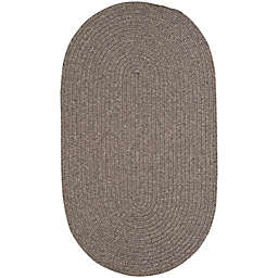 Capel Rugs Candor 1-Foot 8-Inch x 2-Foot 6-Inch Indoor/Outdoor Oval Accent Rug in Chestnut