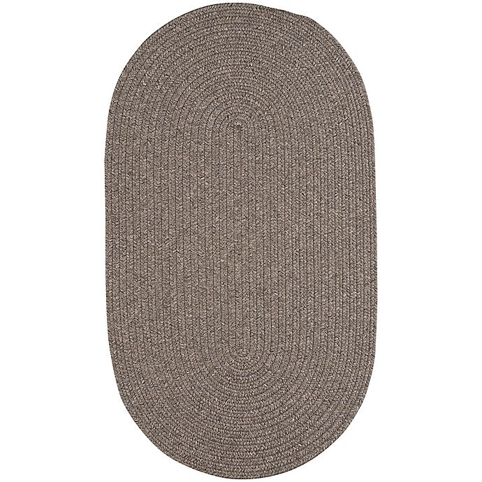 Alternate image 1 for Capel Rugs Candor 7-Foot x 9-Foot Indoor/Outdoor Oval Area Rug in Chestnut