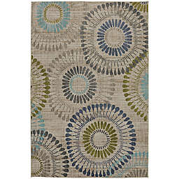 Muse Amos 8-Foot x 11-Foot Area Rug in Lagoon