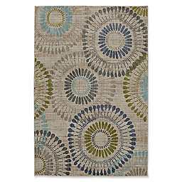 Muse Bacchus Area Rug in Lagoon