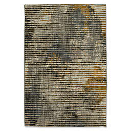Muse Wire Frame 5-Foot 3-Inch x 7-Foot 10-Inch Area Rug in Mustard