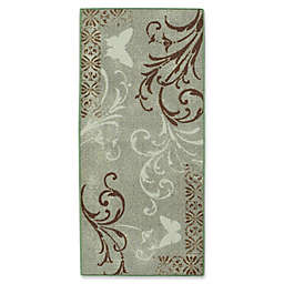 Brumlow Mills Butterfly Flourish Multicolor Accent Rug