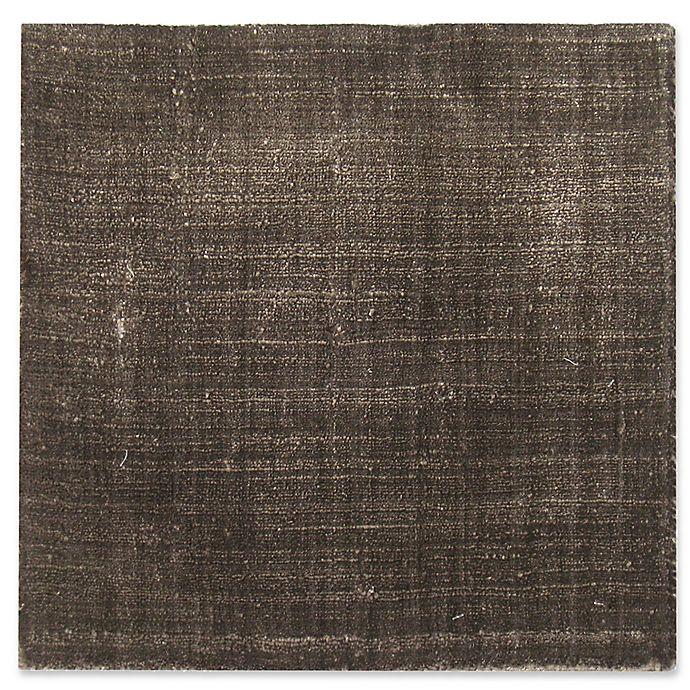 Alternate image 1 for Exquisite Rugs Smooch 6-Foot x 9-Foot Area Rug in Dark Grey