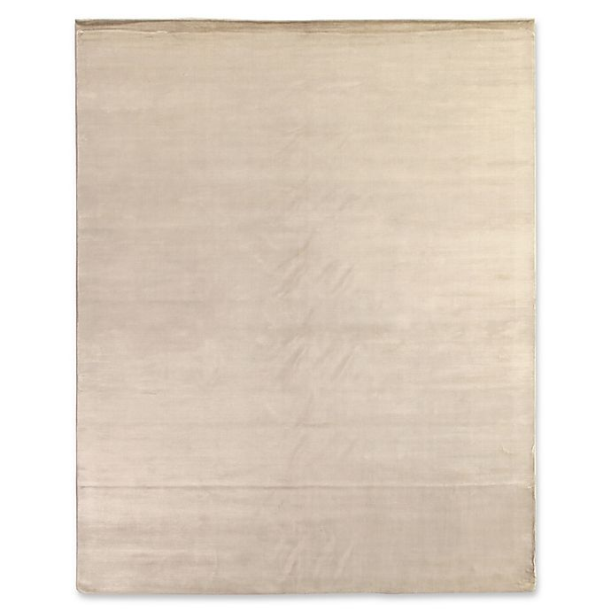 Alternate image 1 for Plain Dove 6-Foot x 9-Foot Area Rug in Pearl