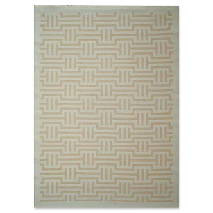 Alternate image 1 for Exquisite Rugs Super Tibetan 8-Foot x 10-Foot Area Rug in Ivory