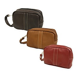 Piel® Leather 5.5-Inch Classic Cosmetic Case