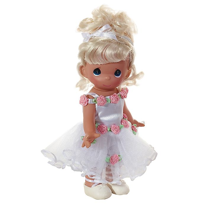 Alternate image 1 for Precious Moments® Beautiful Ballerina Doll with Blonde Hair