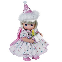 Precious Moments® Blonde Birthday Doll