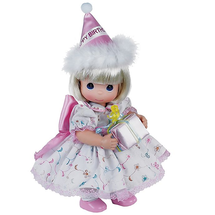 Alternate image 1 for Precious Moments® Blonde Birthday Doll
