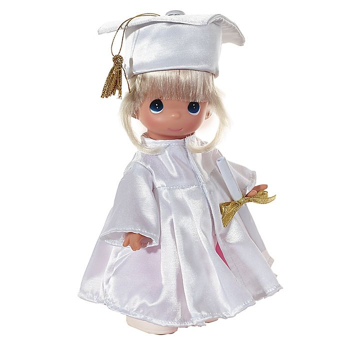 Alternate image 1 for Precious Moments® Graduate Doll with Blonde Hair