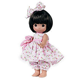 Precious Moments® Bear-Foot Blessings Doll with Brown Hair