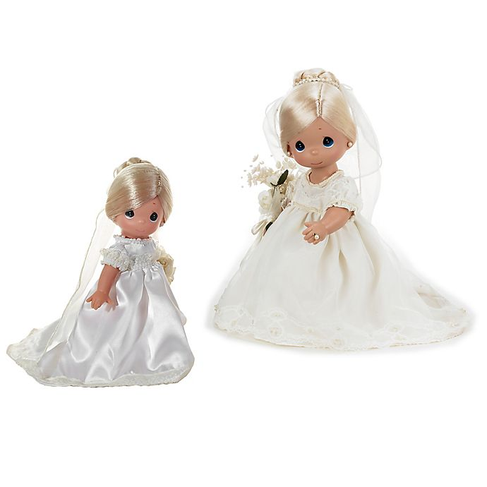 Alternate image 1 for Precious Moments® Enchanted Dreams Blonde Bride Doll
