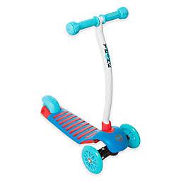 YBIKE Cruze 3-Wheel Scooter in Blue
