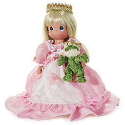 Precious Moments® How Many Frogs Must I Kiss? Doll with Blonde Hair