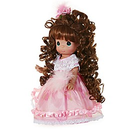 Precious Moments® Curly Locks Doll with Brunette Hair