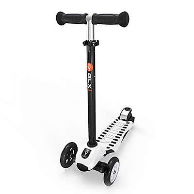 YBIKE GLX PRO Deluxe 3-Wheel Scooter in White