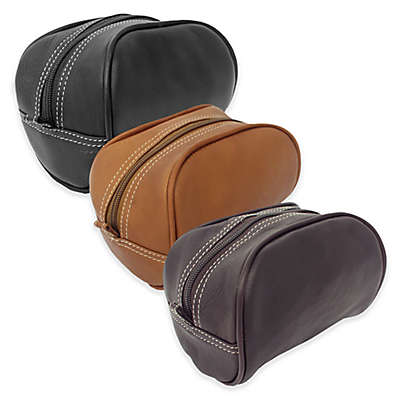 Piel® Leather Classic Cosmetic Bag