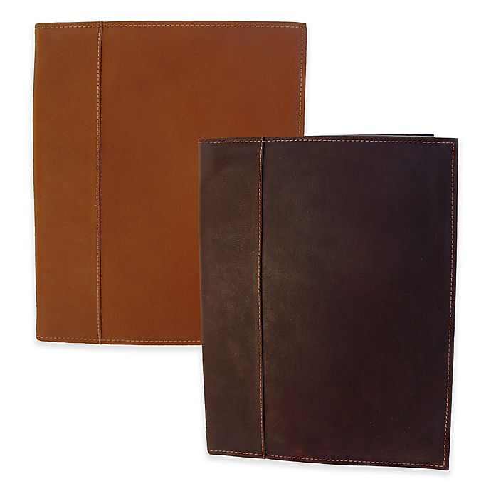 Alternate image 1 for Piel® Leather Letter-Size Padfolio with Organizer