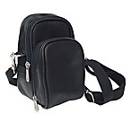 Piel® Leather Classic Camera Bag in Black