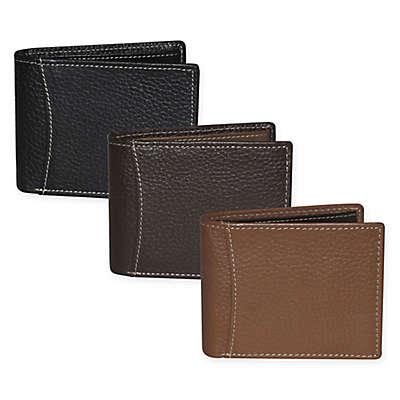 """Dopp® Hudson RFID """"Flip-Out"""" Double ID Slimfold Wallet"""