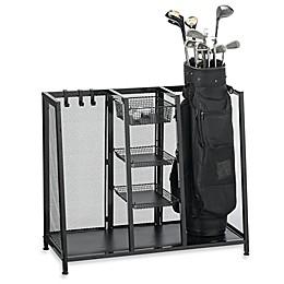 Metal Two Bag Golf Organizer