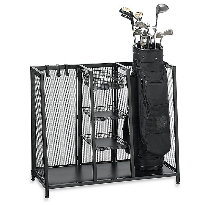 Alternate image 1 for Metal Two Bag Golf Organizer