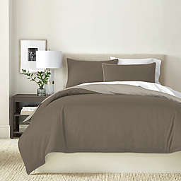 Canadian Living Solid Reversible Duvet Cover