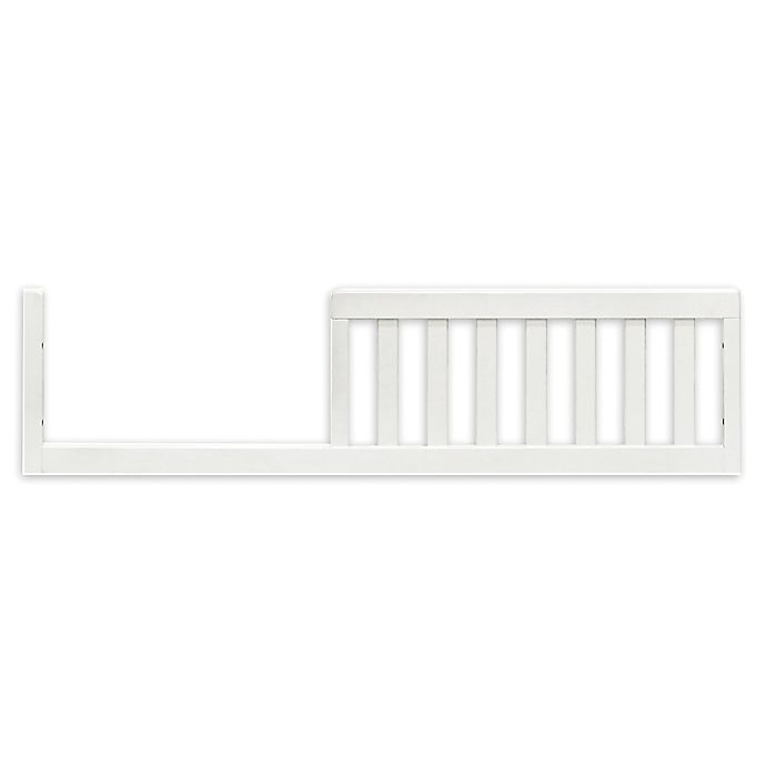 Alternate image 1 for Million Dollar Baby Classic Emma Regency Toddler Bed Conversion Kit in Warm White