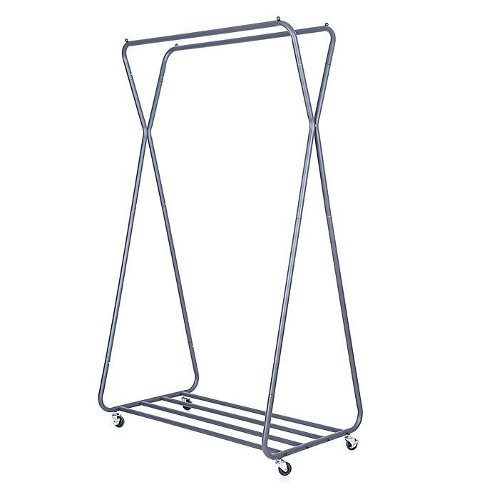 Alternate image 1 for Easy Home Double Hanging Garment Rack