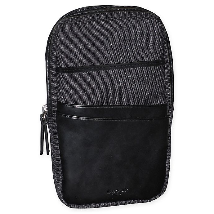 Alternate image 1 for Buxton® 1867 RFID Phone Pouch with Battery in Black