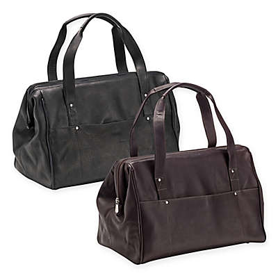 Piel Leather® Wide Mouth Doctor Bag