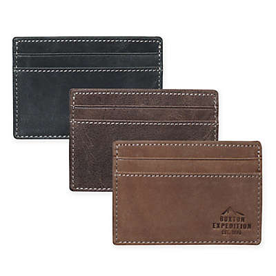 Buxton® Expedition Front Pocket Get-A-Way Wallet