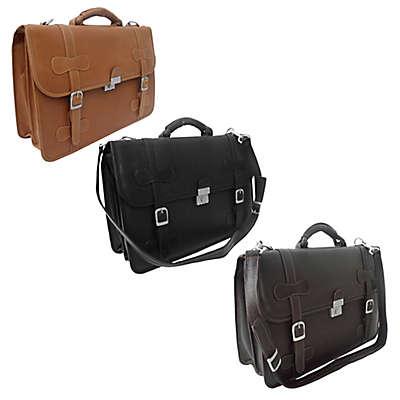 Piel® Leather Classic XXL Flap-Over Portfolio