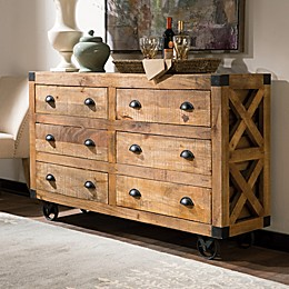 Accent 6-Drawer Cabinet in Natural