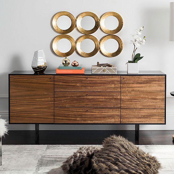 Alternate image 1 for Safavieh Jonna Wood Cabinet in Natural