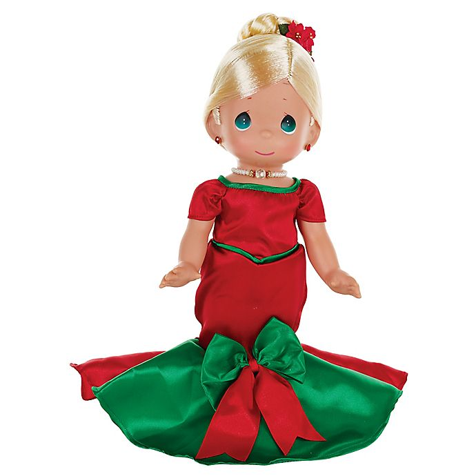 Alternate image 1 for Precious Moments® Blonde Dancing Christmas Doll