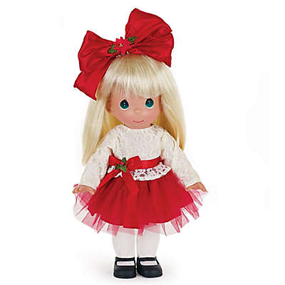 Precious Moments® Krissie Kringle Doll with Blond Hair
