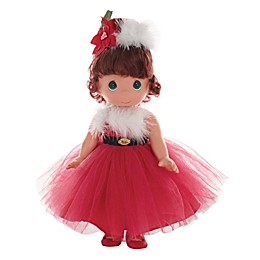 Precious Moments® Santa Baby Doll with Brown Hair